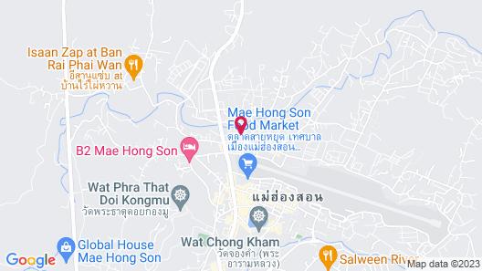 The Point Villa Mae Hong Son Map