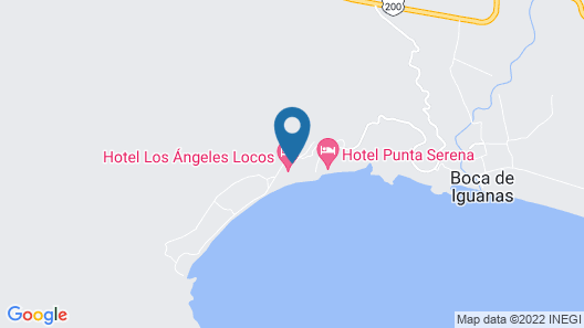 Los Angeles Locos - All Inclusive Map