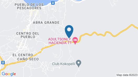 Saman Boutique Hotel Map
