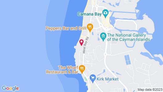 Margaritaville Beach Resort Grand Cayman Map