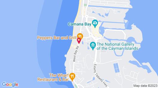 Grand Cayman Marriott Beach Resort Map