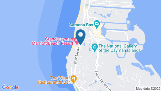 Grand Cayman Marriott Beach Resort Map