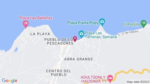 Albachiara Hotel Map