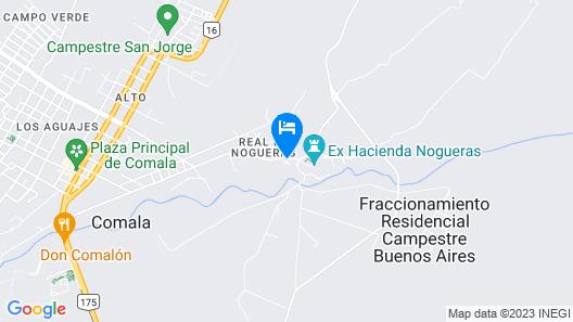 Hostal Casona Nogueras Map