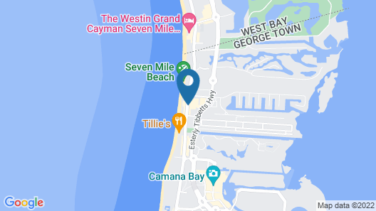 Caribbean Club Luxury Condo Hotel Map