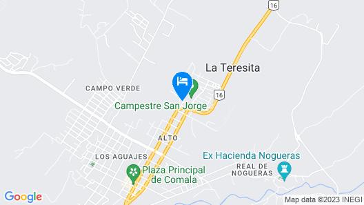 Casa Real de Comala By Rotamundos Map