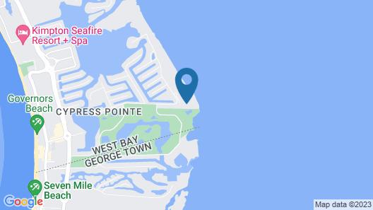Grand Caymanian Resort Map