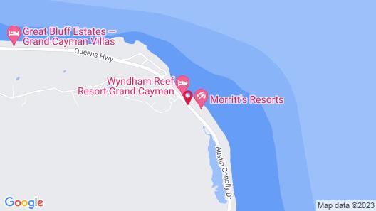 Wyndham Reef Resort Grand Cayman Map