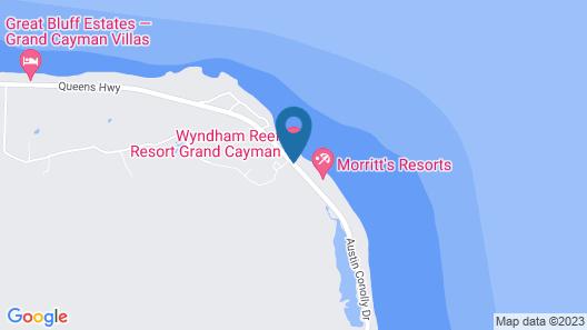 Wyndham Reef Resort All-Inclusive Map
