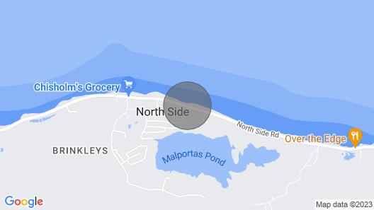 The Harvey Nicole: Beautiful Ocean Front Condo Grand Cayman Map