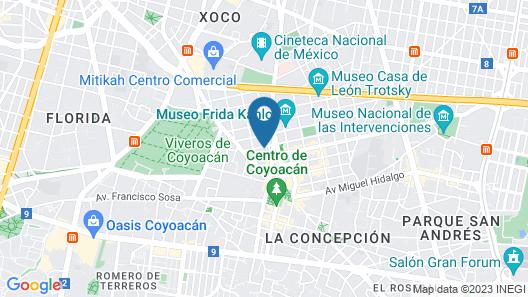 María del Alma Guest House Map
