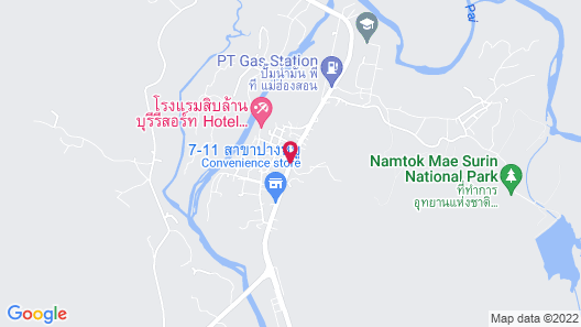 Imperial Mae Hong Son Resort Map