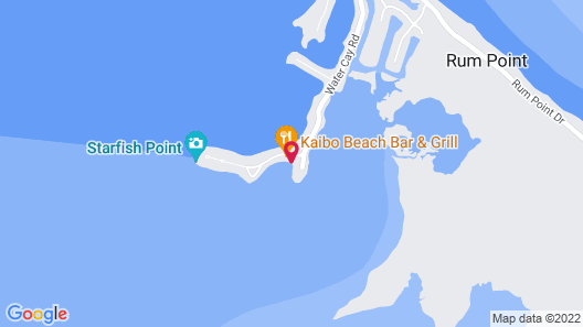 Kayak or Paddle Board the Calm Waters ! Crystal Kai by Cayman Vacation Map