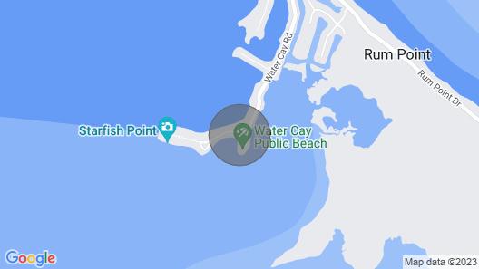 Grand Cayman Oceanfront Condo, Serenity Kai, Kaibo Yacht Club Map