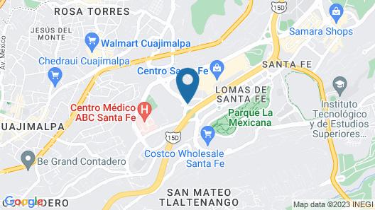 AC Hotel by Marriott Santa Fe Map
