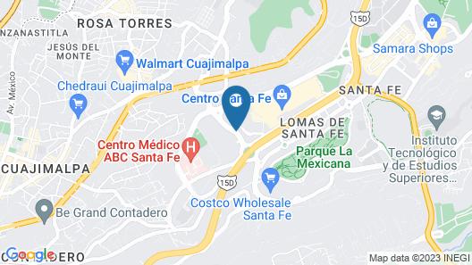 City Express Plus Santa Fe Map