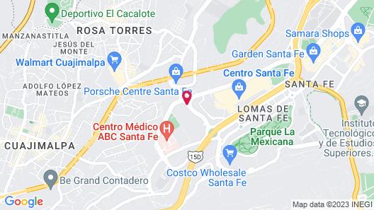 Distrito Capital Map