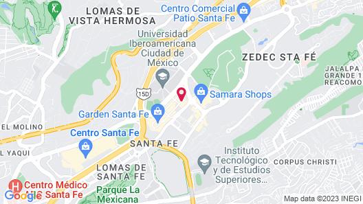 Camino Real Santa Fe Map