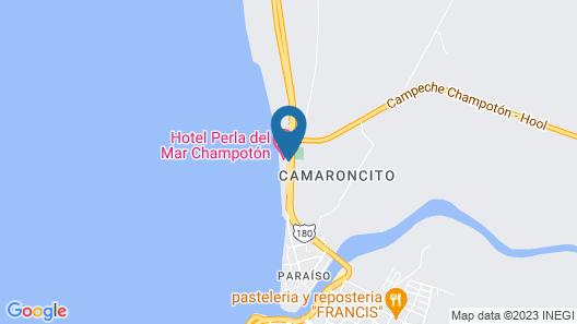 Hotel Perla del Mar Map
