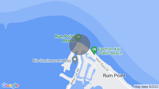 Rum and Kai - Beach Front 1 Bedroom - Rum Point, Grand Cayman Map