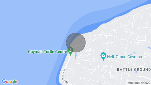 Coconut Bay Cayman Dream Condo Map