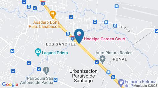 Hodelpa Garden Court Map