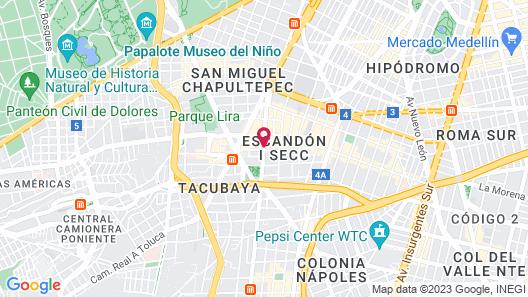 Hotel Ambos Mundos Map