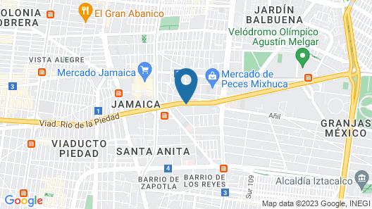 Hotel Riazor Aeropuerto Map