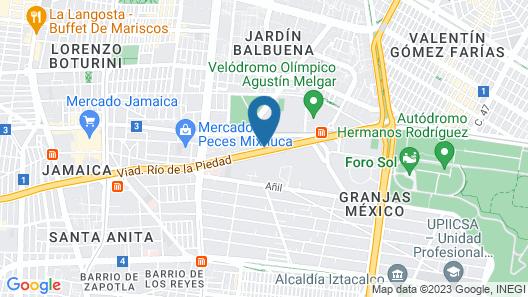 HomFor Viaducto Map