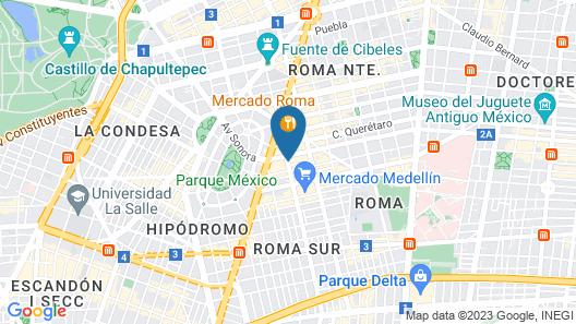 Capital St. Map