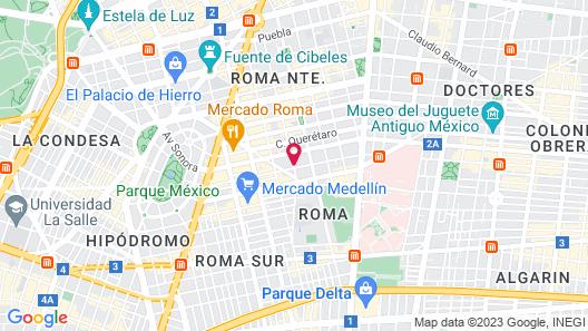 Ignacia Guest House Map