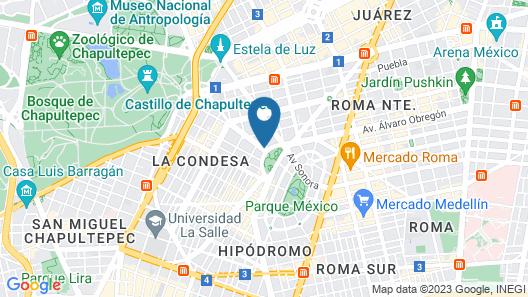 Condesa Df Map