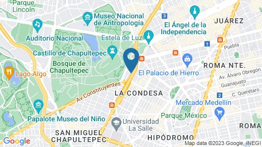 Be Mate Condesa Map