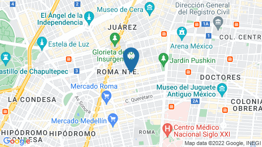 Brick Hotel Map