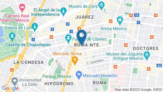 Nima Local House Hotel Map