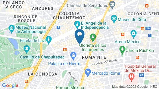 Hotel & Suites PF Map