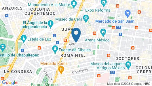 Hotel Embassy Map