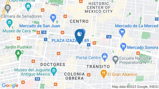 Hotel Frida Costazul Map