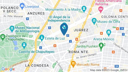 Galeria Plaza Reforma Map