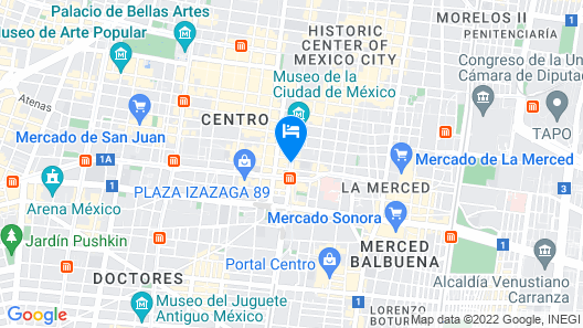 Hotel Castropol Map