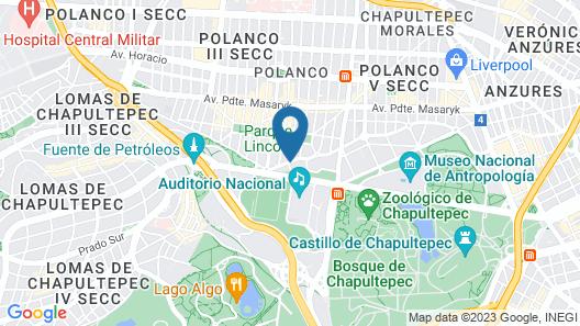 W Mexico City Map