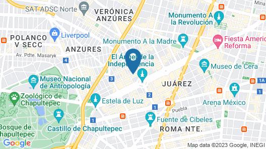 Suites Giorgio Map