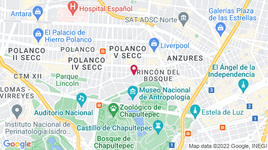 Orchid House Polanco  Map