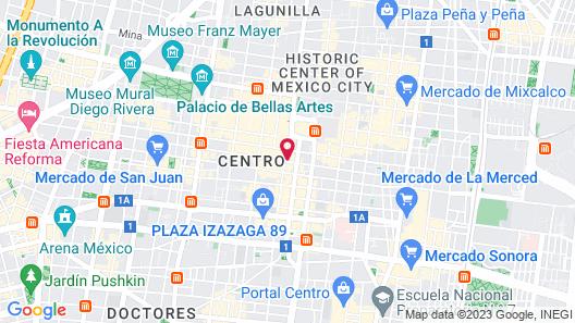 Casa Pepe - Hostel Map