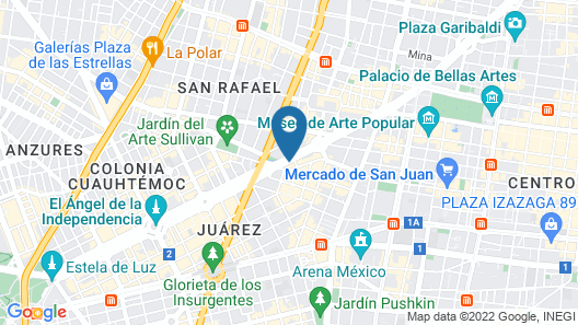 Emporio Reforma Map