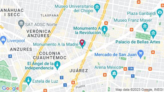 Hotel Sevilla Map