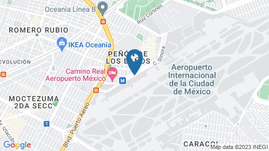 Hilton Mexico City Airport Map