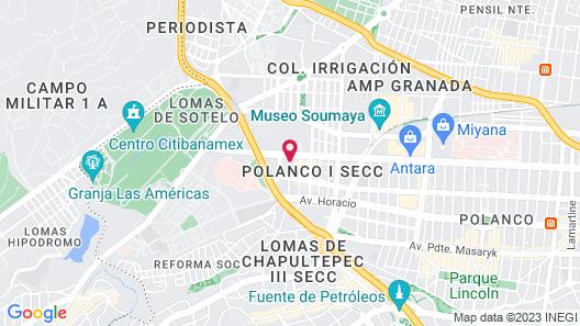 Alteza Polanco Map
