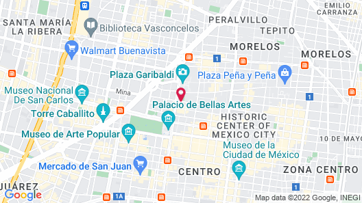 Hotel Diligencias Map