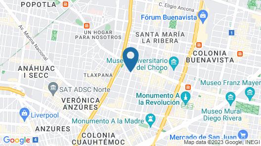 El Patio 77 Map